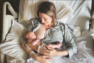 Esther-Edith-First-Feed-Breastfeeding