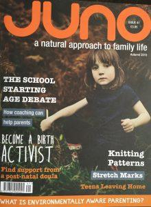 Postnatal doulas in Juno Magazine