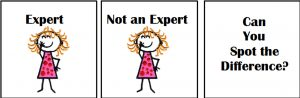 Don't call me an expert!!!