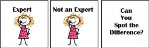 Don't call me an expert!!!