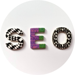 Fridge magnet type letters: SEO